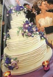creating u0027tiers of ruffles u0027 for wedding cake
