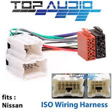 fit nissan x trail t30 t30ii iso wiring harness radio adaptor
