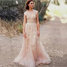Vintage Lace Wedding Dress Vintage Boho Wedding Dress Naf Dresses