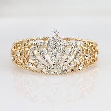 gold wedding bracelet images Beautiful antique crown in crystal rose gold wedding bracelet jpg