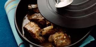 comment cuisiner le paleron paleron de boeuf braisé au cidre facile et pas cher recette sur