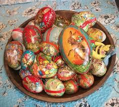 vintage paper mache easter eggs german easter eggs german easter eggs eggs