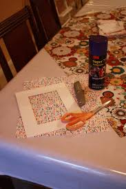 amy j delightful blog fabric covered mat how to