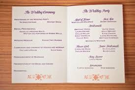 simple wedding programs exles wedding invitation program format 100 images wedding program