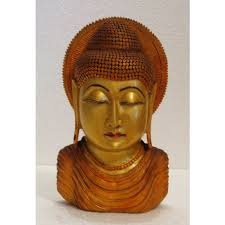 home decor u0026 handicrafts wooden buddha online shopping india