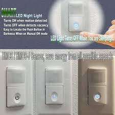 light switch cover night light bathroom light with motion sensor lighting led mirror indoor switch