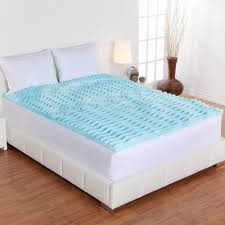 Bed On The Floor by Bedroom Comfortable Bed Design With Gel Foam Mattress Topper