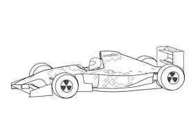 formula 1 car coloring pages sauber c30 f1 car coloring page