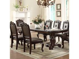 kiera traditional double pedestal dining table belfort furniture