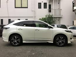 lexus nx and toyota harrier 2015 toyota harrier premium style mauve used car for sale at