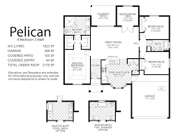 100 one story two bedroom house plans floor plan for a