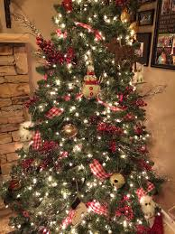 country christmas tree christmas decor pinterest country