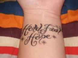 22 best hope tattoos images on pinterest lyrics cool tattoos