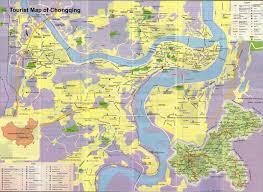 Travel Maps Chongqing Travel Map Chongqing Maps China Tour Advisors