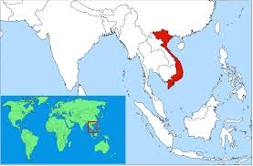 World Map Korea Vietnam Location On The World Map Throughout South Korea Suggests Me