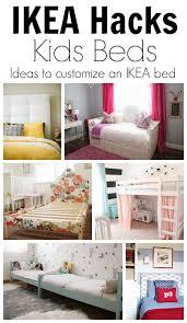 Ikea Bed Hack Ikea Hack Ideas To Customize Kids Beds