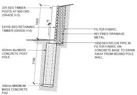 Timber Post Retaining Wall Costings New Zealand - Timber retaining wall design