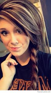 dark brown hair with blond highlights awesome dark brown hair color with blonde highlights into a braid