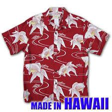 Hawaii Travel Shirts images Birigo iolani 102307 red iolani aloha shirts made in hawaii jpg