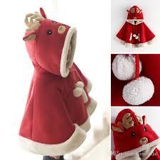 fur christmas 2017 children s cloak merry christmas santa claus faux