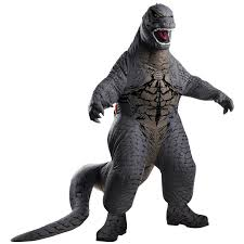 kids inflatable godzilla costume buycostumes com
