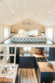 tiny house decor bedroom over kitchen not for us but love the bright uncluttered