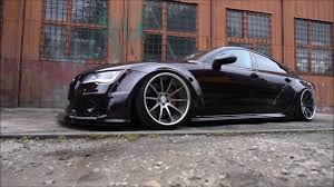 slammed audi a7 audi a7 crazy widebody youtube