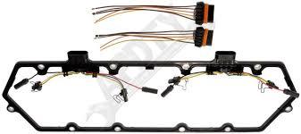 amazon com apdty 726313 valve cover gasket kit w glow plug wiring