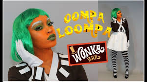 oompa loompa costume diy oompa loompa costume glam makeup