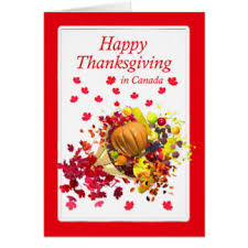 happy thanksgiving in canada greeting cards zazzle