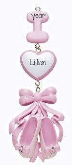 ballet gymnastics my personalized ornaments