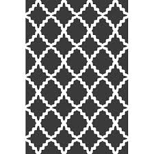 Modern Gray Rugs Trellis Gray Rug Graphic Modern Rug With Trellis Pattern