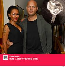 upgrading wedding ring mel b gets wedding ring upgrade see stunning new sparkler