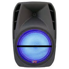 moonlight speakers 4600 watt 15 portable battery powered bluetooth pa speaker