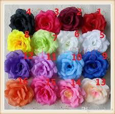 roses wholesale 8cm silk flower heads for wedding party decorative artificial