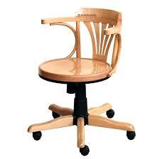 chaise de bureau en bois à chaise de bureau en bois le fauteuil de bureau suliac un design