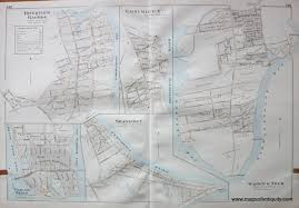 Warwick New York Map by Town Of Warwick Villages Of Warwick Neck Conimicut Shawomet