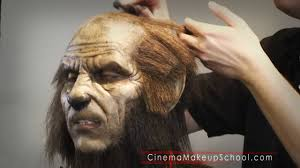 wolfman cinema makeup halloween special youtube