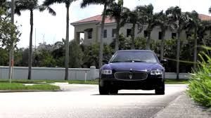 maserati metallic 2007 maserati quattroporte executive gt ocean blue metallic