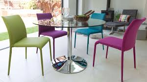 Glass Round Kitchen Table by Contemporary Dining Tables Extending Glass Dining Tables