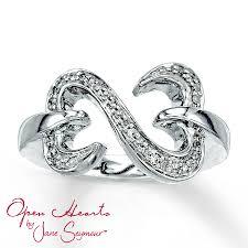 kay jewelers charm bracelets white gold bracelets kay jewelers open heart ring