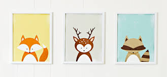 Kids Room Animal Art Prints Lowes Canada - Prints for kids rooms