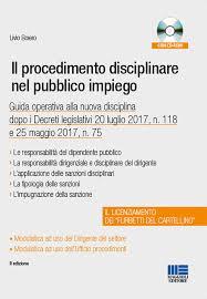 maggioli editore sede il procedimento disciplinare nel pubblico impiego con cd rom