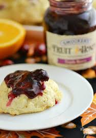 cranberry side dish thanksgiving homemade cranberry orange drop biscuits finding zest