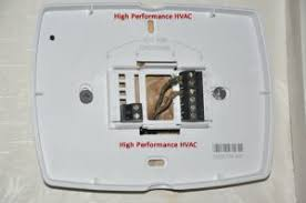 4 wire or 5 wire thermostat wiring problem wifi tstat