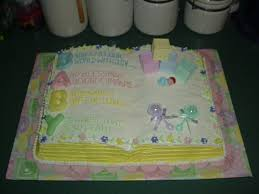 baby shower cake open book cake baby shower open book cake u2026 flickr