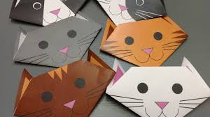 free origami cat paper print your own cute cats youtube