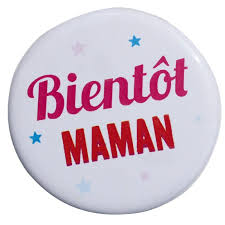 future maman badge bientôt maman badge original future maman