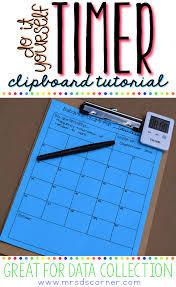 diy timer clipboard mrs d u0027s corner