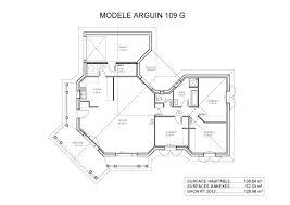 plan de maison de plain pied avec 4 chambres plan de maison plain pied en u cuisine gorgeous plan maison en u